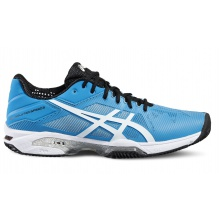 Asics Gel Solution Speed 3 Clay 2016 blau Tennisschuhe Herren