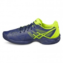 Asics Gel Solution Speed 3 Clay 2017 indigo Tennisschuhe Herren