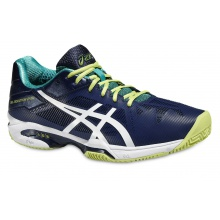 Asics Gel Solution Speed 3 Clay 2016 indigo Tennisschuhe Herren
