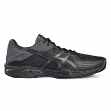 Asics Gel Solution Speed 3 Clay 2017 schwarz Tennisschuhe Herren