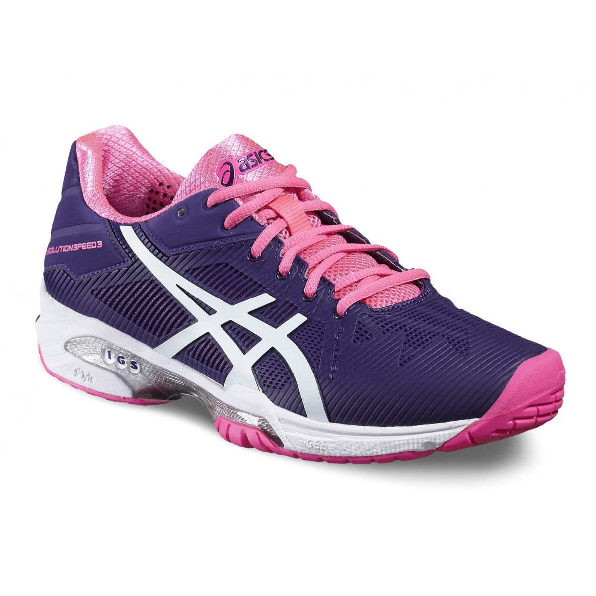 Asics Gel Solution Speed 3 Allcourt 2016 violett