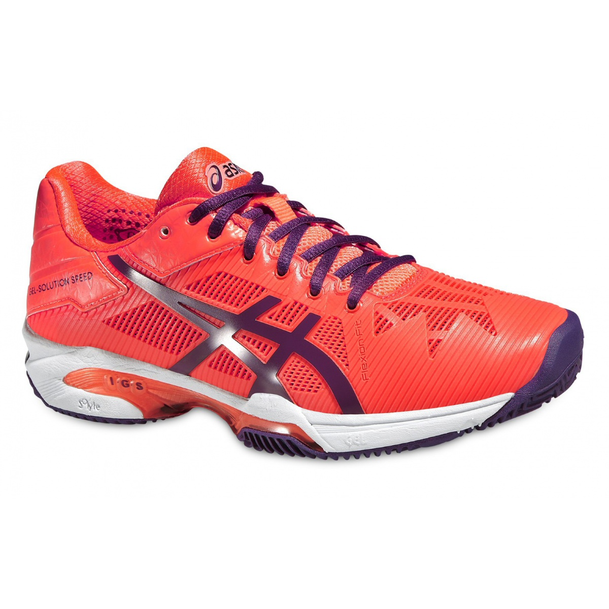 asics gel solution speed 3 clay 2016 koralle tennisschuhe damen versandkostenfrei online bestellen. Black Bedroom Furniture Sets. Home Design Ideas
