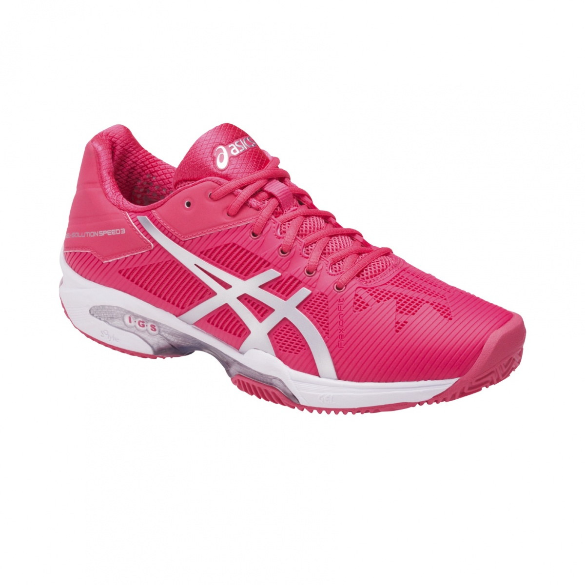 Asics Gel Solution Speed 3 2017 indigo/pink Tennisschuhe Damen DRxoS7Q7H
