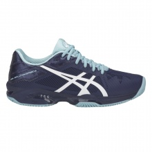 Asics Gel Solution Speed 3 Clay indigo/hellblau Tennisschuhe Damen