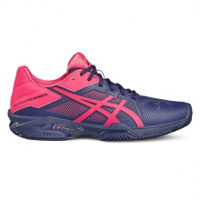 Asics Gel Solution Speed 3 Clay 2017 indigo/pink Tennisschuhe Damen