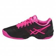 Asics Gel Solution Speed 3 Clay 2018 schwarz/pink Tennisschuhe Damen