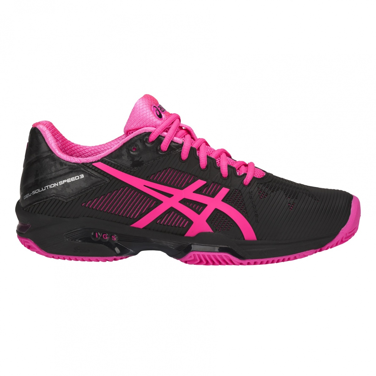 Asics Gel Solution Speed 3 Clay 2018 schwarz/pink ...