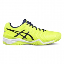 Asics Gel Resolution 7 2017 gelb Tennisschuhe Herren