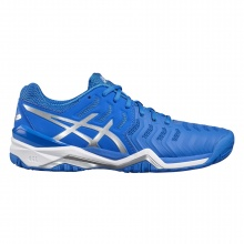 Asics Gel Resolution 7 2017 blau Tennisschuhe Herren