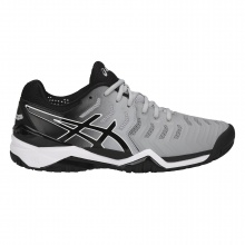Asics Gel Resolution 7 grau Stabil-Allcourt-Tennisschuhe Herren