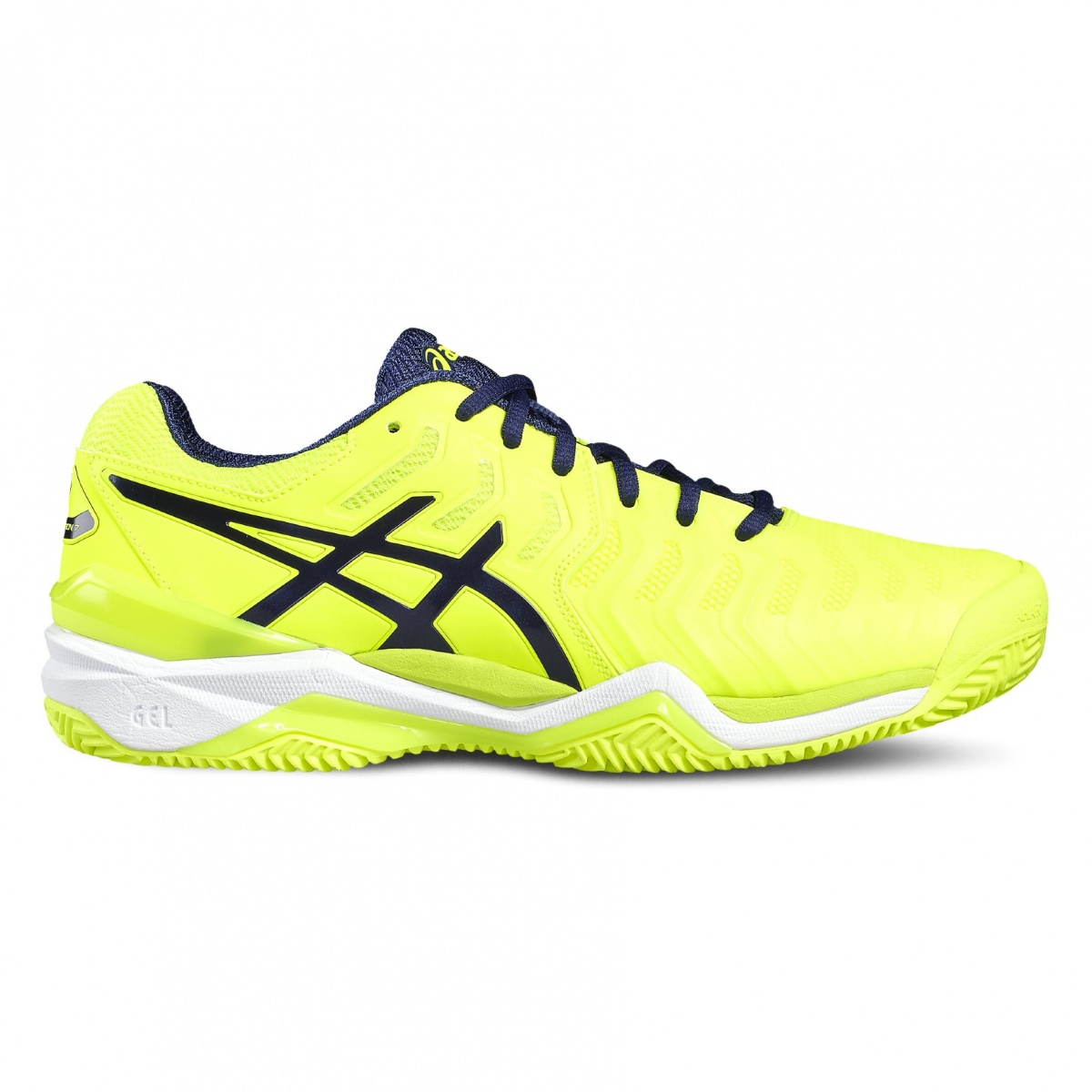 Asics Gel Resolution 7 Clay 2017 gelb Tennisschuhe Herren