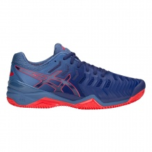 Asics Gel Resolution 7 Clay 2018 blau/rot Tennisschuhe Herren