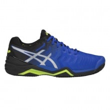 Asics Gel Resolution 7 Clay 2019 blau/schwarz Tennisschuhe Herren