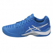 Asics Gel Resolution 7 Clay 2017 blau Tennisschuhe Herren