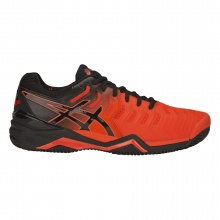 Asics Gel Resolution 7 Clay 2019 rot/schwarz Tennisschuhe Herren