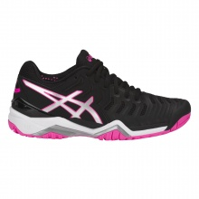 Asics Gel Resolution 7 Allcourt 2018 schwarz/pink Tennisschuhe Damen