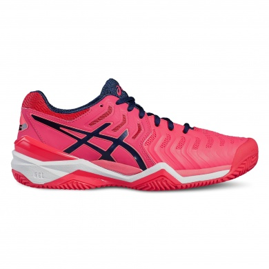 Asics Gel Resolution 7 Clay 2017 divapink Tennisschuhe Damen