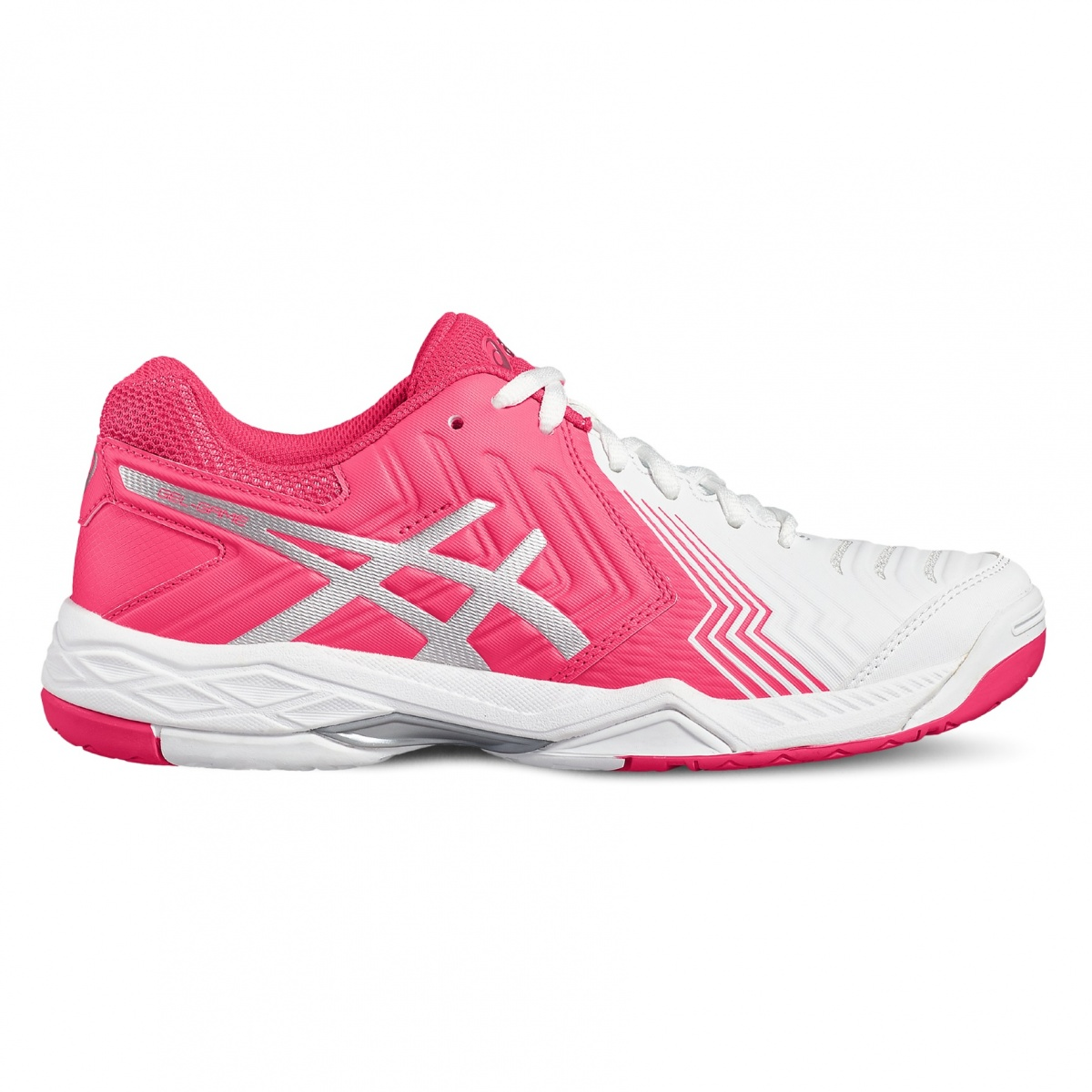asics gel game 6 2017 weiss pink tennisschuhe damen versandkostenfrei online bestellen. Black Bedroom Furniture Sets. Home Design Ideas