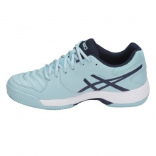 Asics Gel Game 6 Clay hellblau Sandplatz-Tennisschuhe Damen