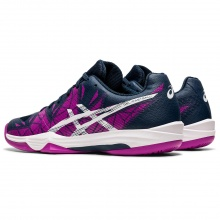 Asics Gel Fastball 3 2021 grape/weiss Indoor-Hallenschuhe Damen