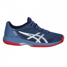 Asics Gel Court Speed Clay 2018 blau Tennisschuhe Herren