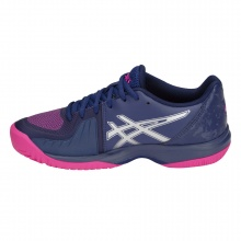 Asics Gel Court Speed Allcourt dunkelblau/pink Tennisschuhe Damen