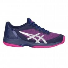 Asics Gel Court Speed Allcourt 2018 dunkelblau/pink Tennisschuhe Damen
