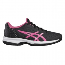 Asics Gel Court Speed Clay 2018 schwarz/pink Tennisschuhe Damen