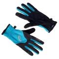 Asics Handschuhe Winter Running schwarz/blau Herren (Größe XL)