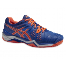 Asics Gel Resolution 6 Clay 2015 blau Tennisschuhe Herren