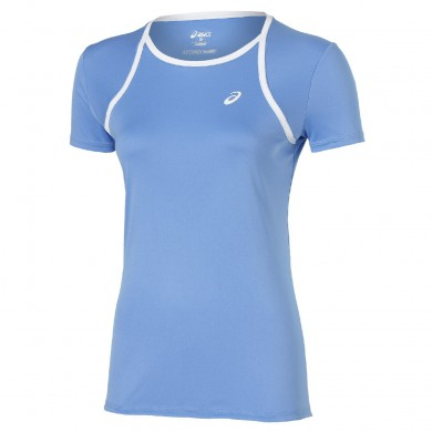 Asics Shirt Club 2015 hellblau Damen