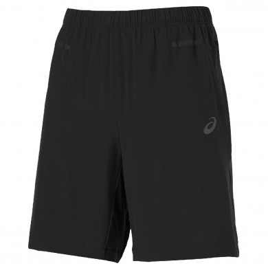 Asics Short Training Woven 9 inch 2015 schwarz Herren