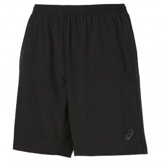 Asics Short Tennis Woven 9IN 2015 schwarz Herren