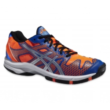 Asics Gel Solution Speed 2 orange/blau Tennisschuhe Kinder