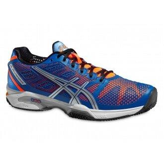 Asics Gel Solution Speed 2 Clay 2015 blau Tennisschuhe Herren (Größe 48)