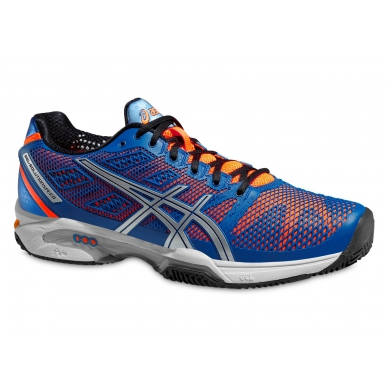 Asics Gel Solution Speed 2 Clay 2015 blau Tennisschuhe Herren (Größe 48)