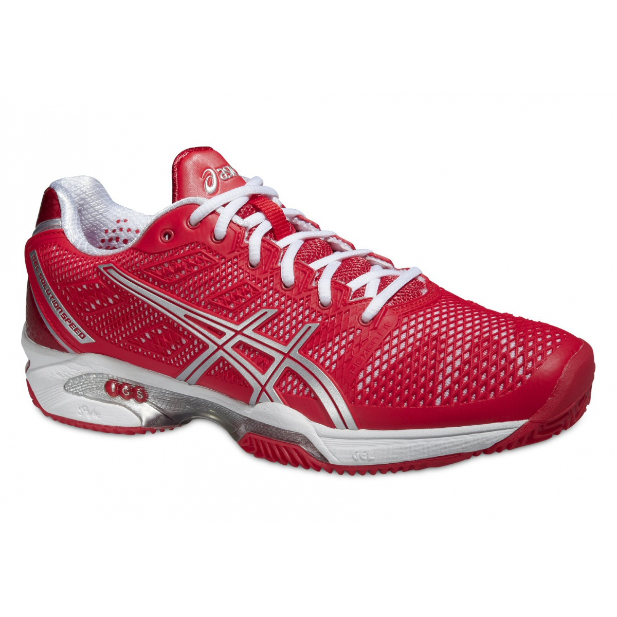 asics gel solution speed 2 clay hibiscus tennisschuhe damen versandkostenfrei online bestellen. Black Bedroom Furniture Sets. Home Design Ideas