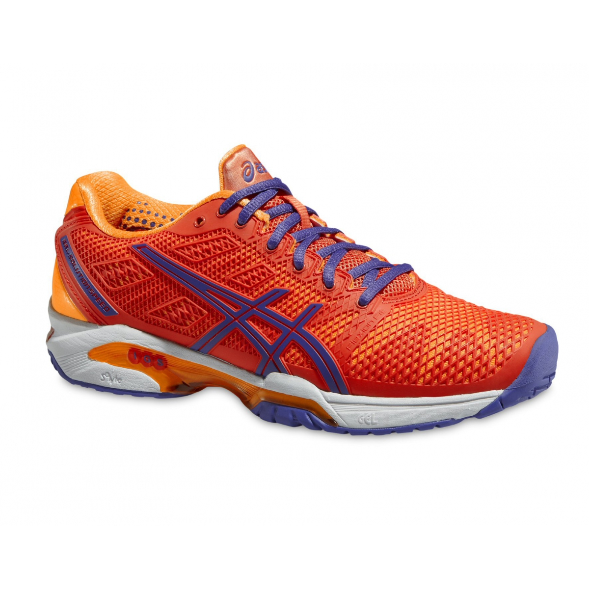Asics Gel Solution Speed 2 koralle Tennisschuhe Damen ...
