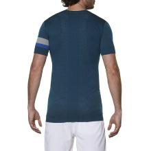 Asics Tshirt Athlete Seamless mosaic blue Herren