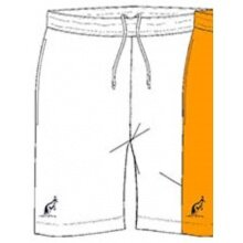 Australian Tennishose Short Ace mit Innenslip kurz weiss Herren
