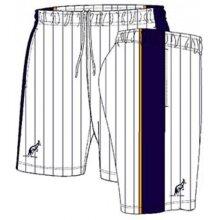 Australian Tennishose Short Ace Stripes kurz weiss/navy Herren