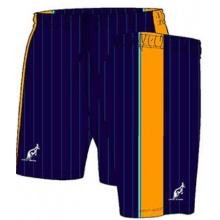 Australian Tennishose Short Ace Stripes kurz navy Herren