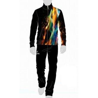 Australian Anzug Smash Stampata 2015 schwarz Herren (Größe L)