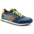 Australian Desmond Leather blau Sneaker Herren