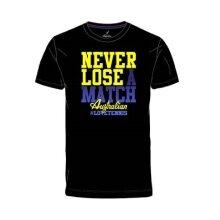 Australian Tshirt Never Lose 2017 schwarz Herren