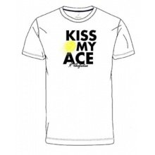 Australian Tshirt Kiss My Ace 2019 weiss Herren