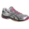 Asics Gel Rocket 6 silver/pink Indoorschuhe Damen (Größe 42+44)