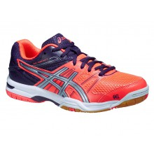 Asics Gel Rocket 7 2015 flashcoral Indoorschuhe Damen