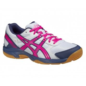 Asics Gel VisionCourt 2015 weiss/pink Indoorschuhe Damen