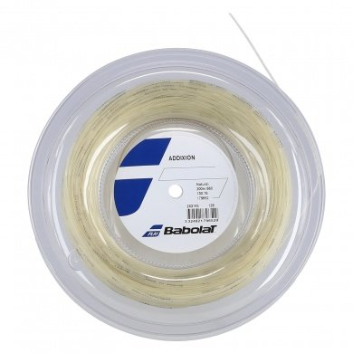 Babolat Tennissaite Addixion (Touch+Armschonng) natur 200m Rolle